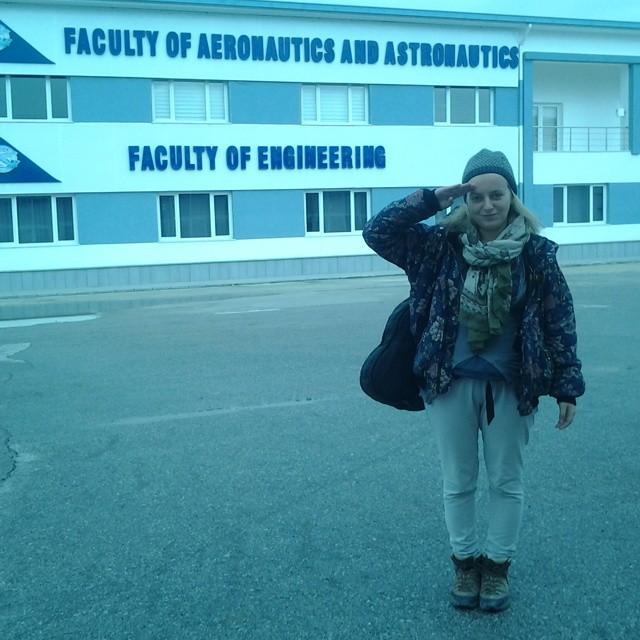 ankara university turkey turkiye aeronautics astronautics astronaut school
