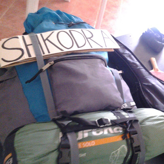 shkodra shkoder albania hitchhiking montenegro crna gora shqiperi border crossing