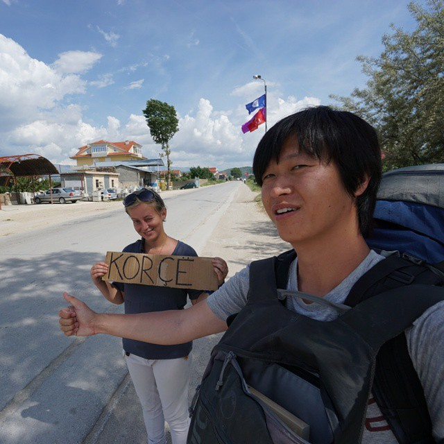the balkan-trail balkans europe albania hitchhiking