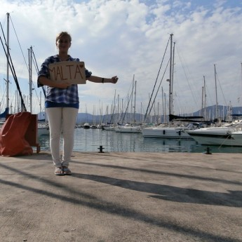 marina gouvia corfu greece boathitching malta woman solo barcastop