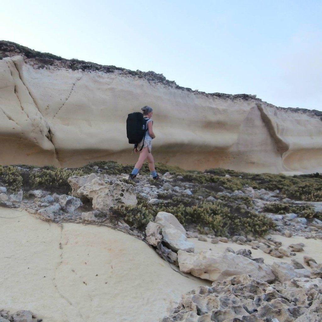 hitcher gone hiking malta hitchhiker hitchhiking gozo