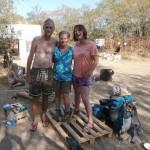 hitchgathering france 2015 freecamping wildcamping camping drome saint laurent du pape