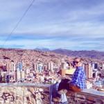 Bolivian Bubble-Hunt Bolivia La Paz new year