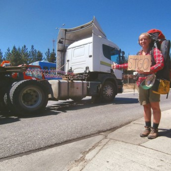 santiago de chile achievement unlocked hitchhiking