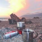 cooking camp stove camping freecamping wildcamping beach camping chile