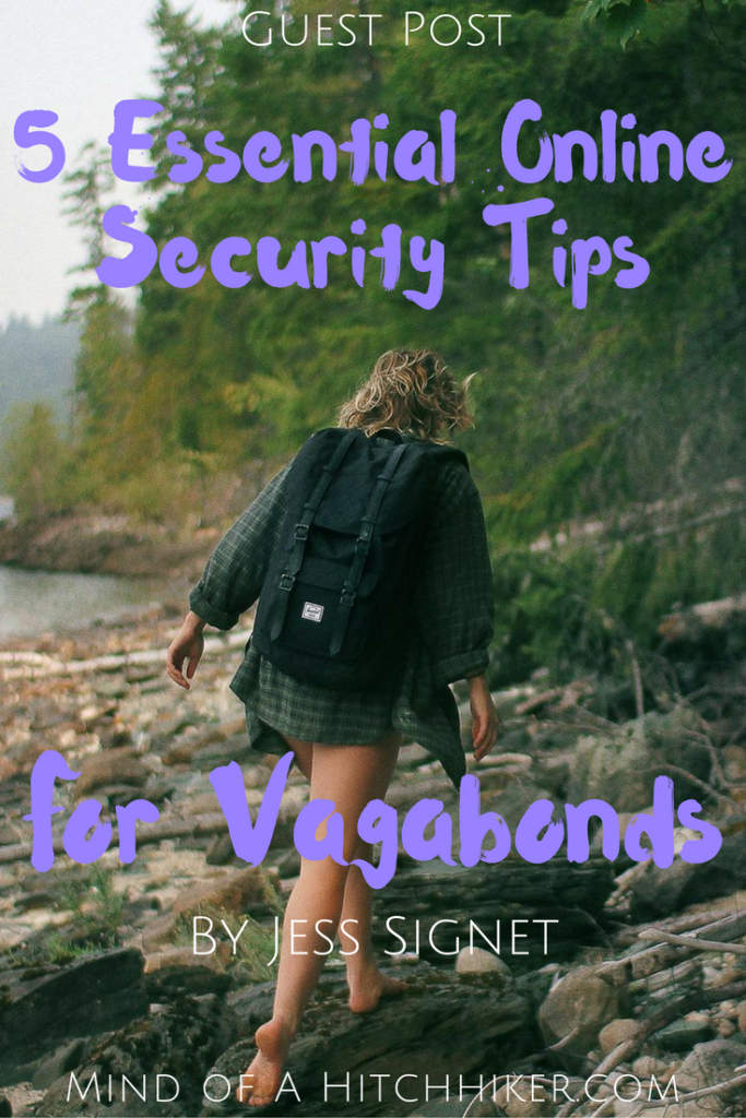5 essential online security tips for vagabonds jess signet guest post pinterest