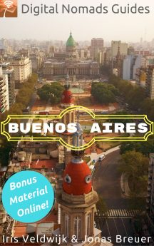 Buenos Aires Digital Nomads Guides Travel book Argentina