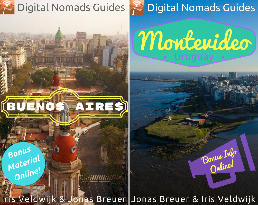 book cover buenos aires montevideo argentina uruguay digital nomads guides