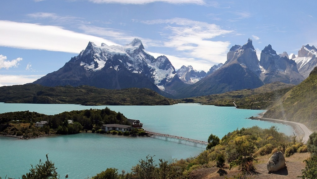 torres del paine chile mountains lake cabin hermit 71 reasons south america
