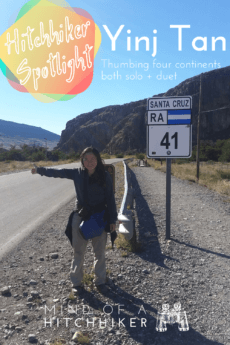 In this hitchhiker spotlight, Yinj Tan shares some stories from her hitchhiking journeys from various countries such as Bulgaria, China, and Argentina