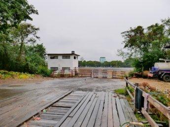 1 Mandalay's Abandoned Airport wooden bridge