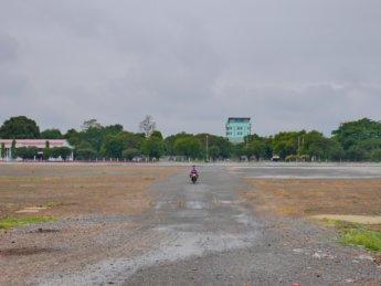 7 abandoned airport runway myanmar shortcut motorbike mandalay