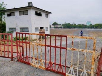 9 motorbike shortcut abandoned runway airport tarmac myanmar mandalay