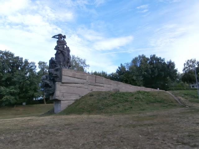 Babyn Yar memorial Kyiv Kiev Ukraine