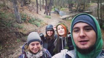 Eskişehir hiking day december 10th i think 2v2