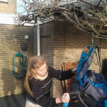 waterproof waterproofing backpack gear preparation