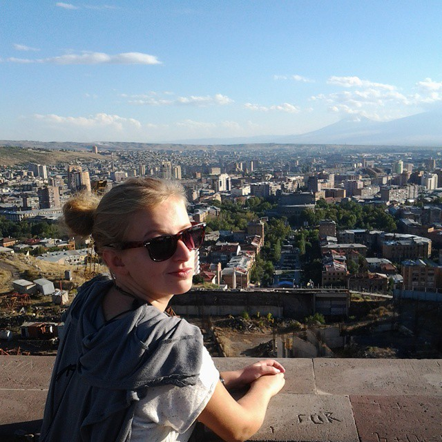 yerevan ararat city view