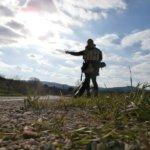 Belgrade to Sarajevo hitchhiking day Višegrad Uzice Cacak