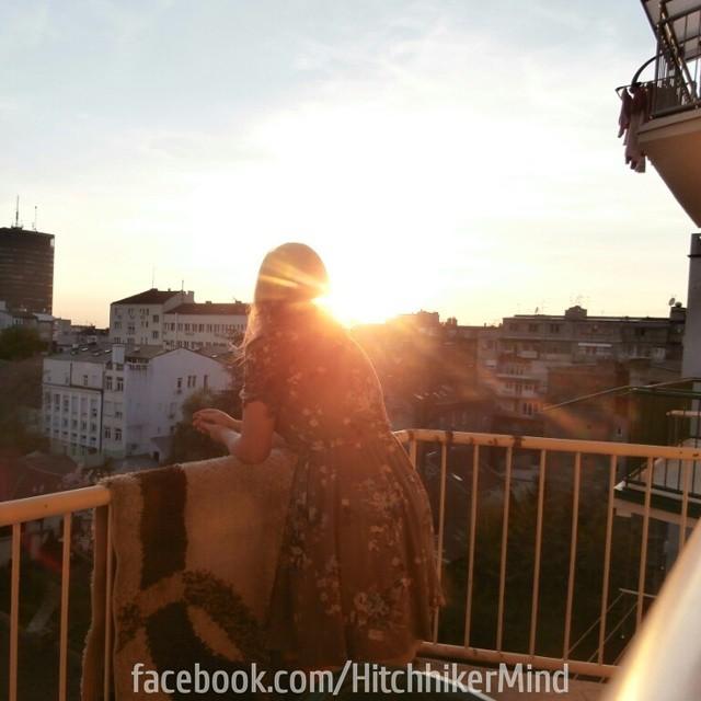belgradian sunset belgrade beograd tasmajdan centre