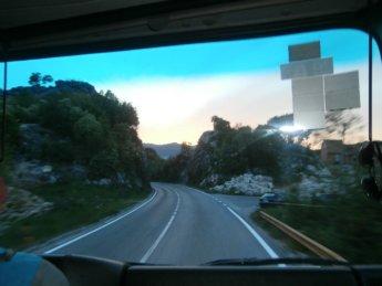 hitchhiking freecamping cetinje montenegro