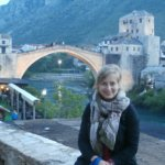 Stari Most Mostar Bosnia and Herzegovina mandatory photo with the old bridge