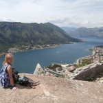 bay of kotor montenegro crna gora hitchhiking solo woman castle