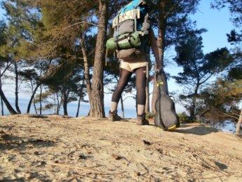 Beachcamping dürres albania freecamping wildcamping backpacking busking
