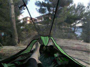 freecamping in durres albania hitchhiking to tirana backpacking europe
