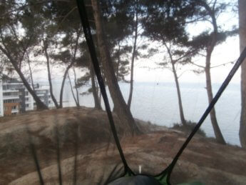 wildcamping albania mosquito fly durres beach