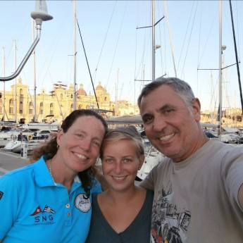 Valetta epic arrival in malta by boat yacht boathitching hitchhiking solo woman