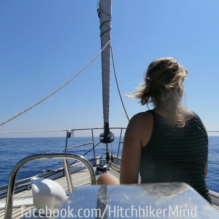 yacht-hitch finale hitchhiking boathitching solo woman greece malta