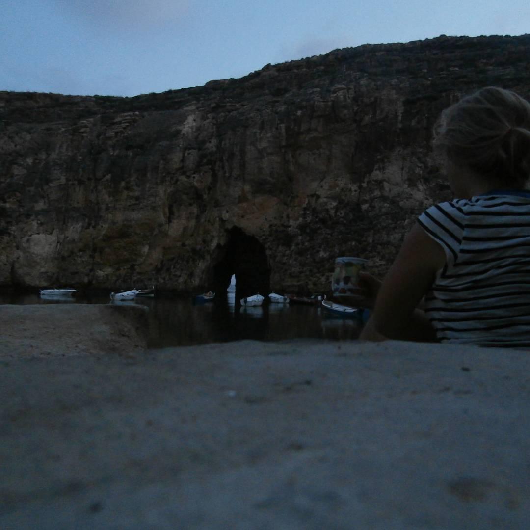 Dwejra gozo malta freecamping wildcamping coffee hitchhiking