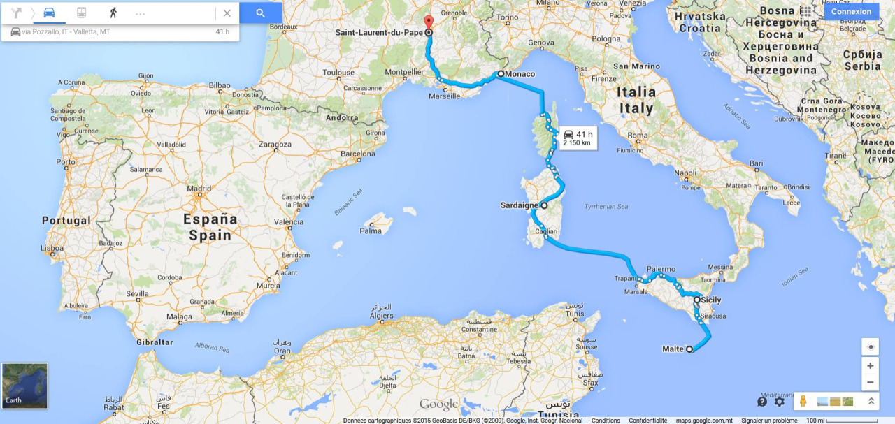 hitchhiking route mediterranean solo female travel