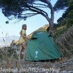 amalfi coast italy hitchhiking freecamping wildcamping
