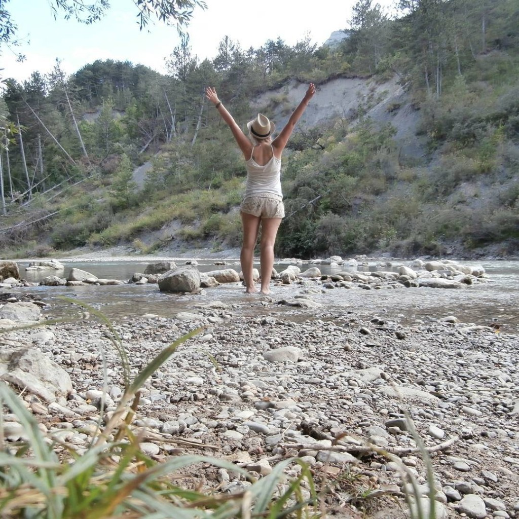 birthday france drome ardeche hitchhiking freecamping wildcamping nature camping
