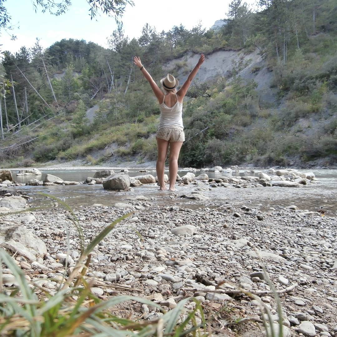 Die Drôme birthday france drome ardeche hitchhiking freecamping wildcamping nature camping