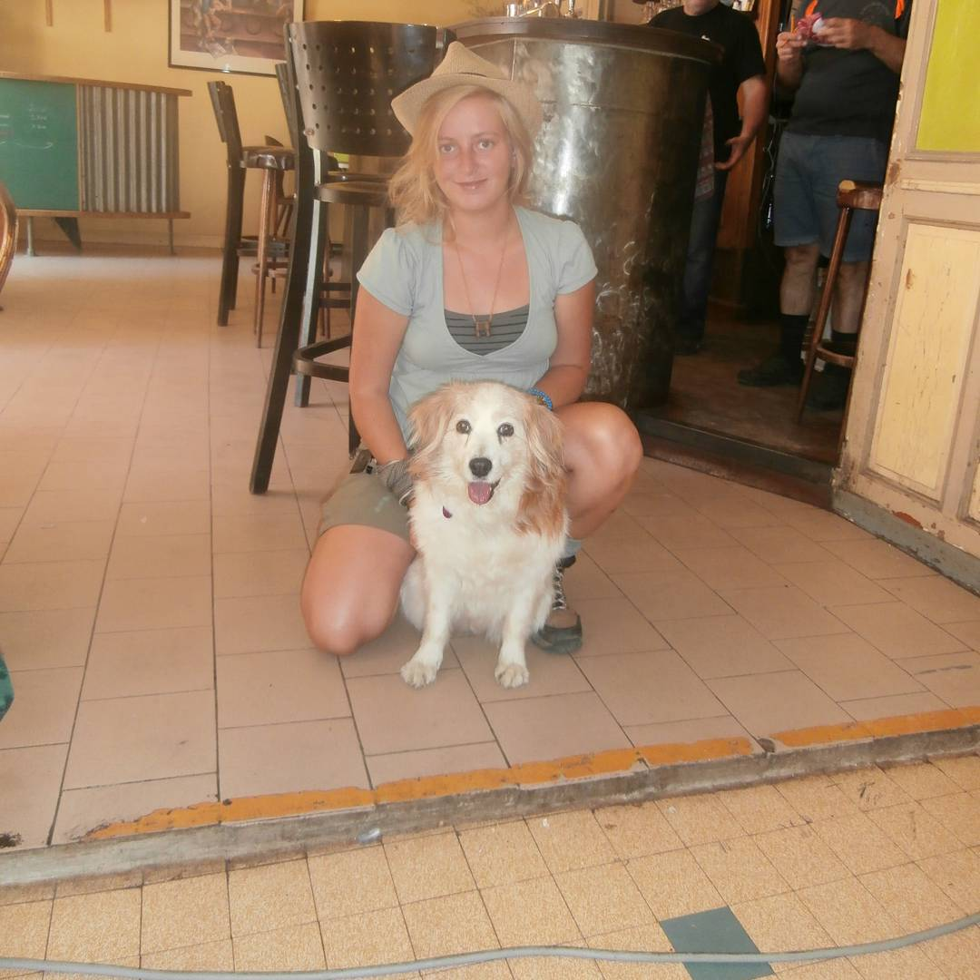 goodbyecry farewell family dog hitchhiking france drome ardeche solo female travel