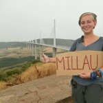 millau viaduct hitchhiking bucketlist solo female travel