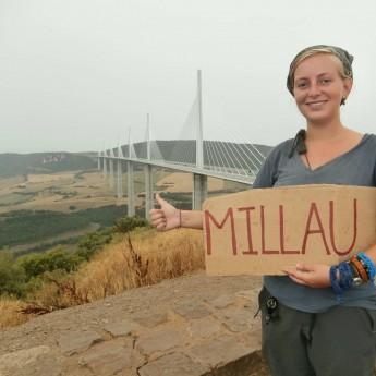 millau viaduct hitchhiking bucketlist solo female travel
