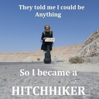 they told me i could be anything so i became a hitchhiker iran solo female travel adventure