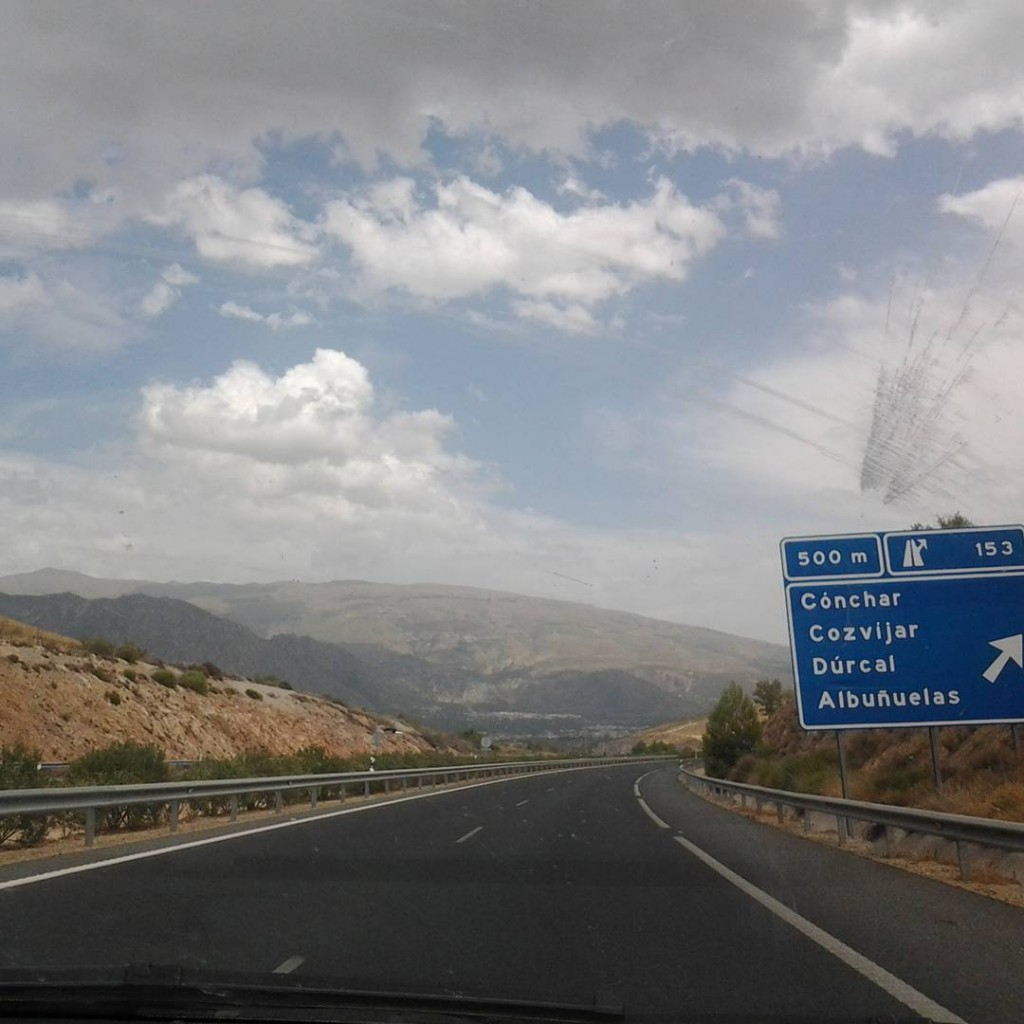 sierra nevada spain hitchhiking solo female travel