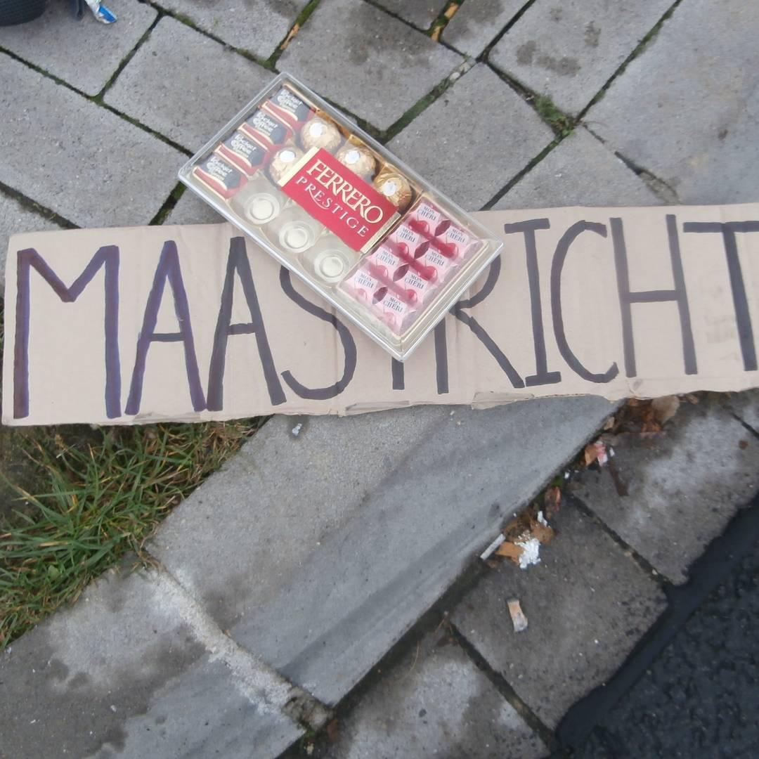 free chocolate hitchhiking germany