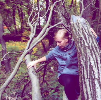 Treptower Park Tree Climbing Berlin hitchhiking geocaching
