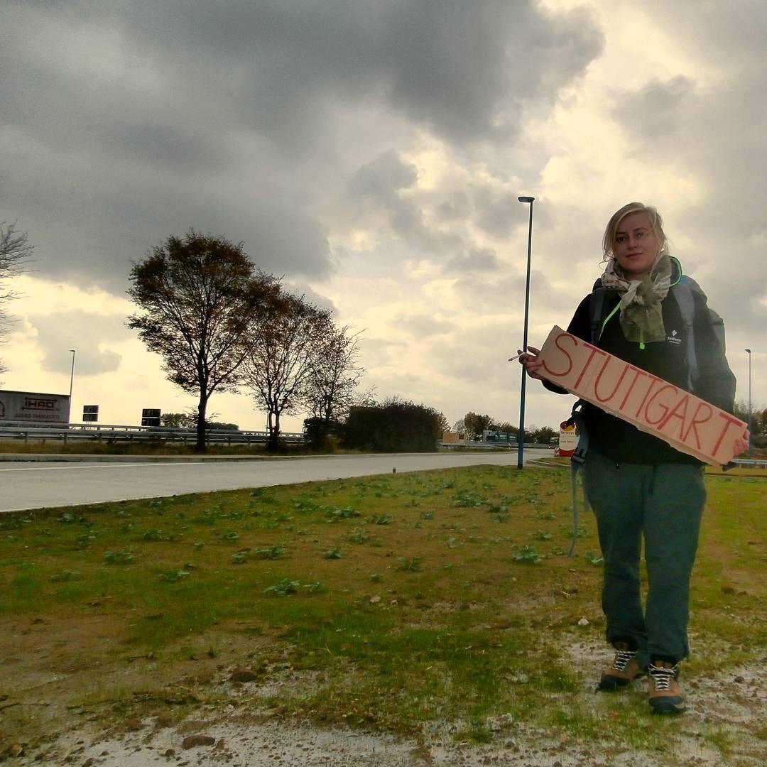 Berlin to Stuttgart hitchhiking