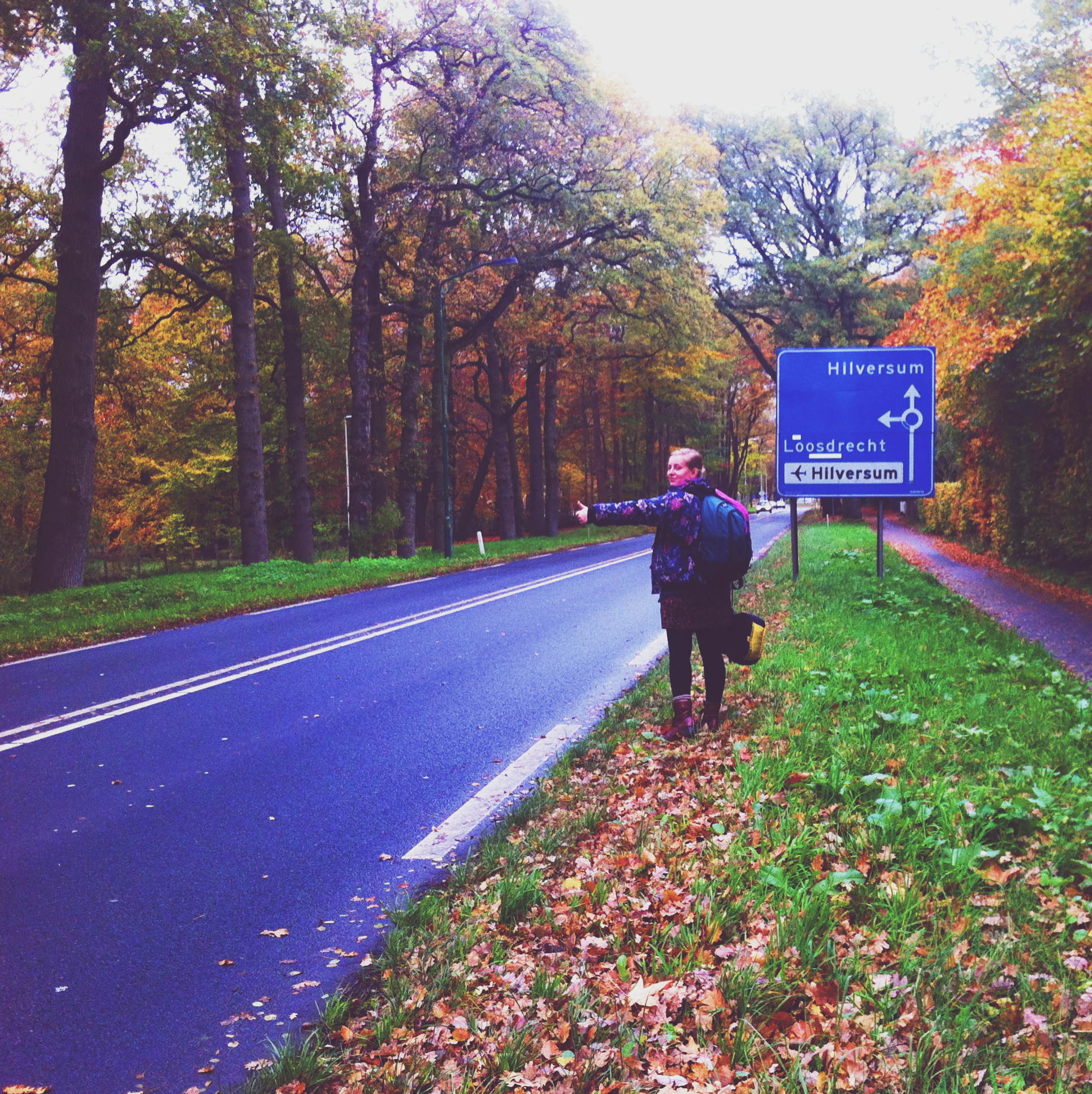 canary islands hitchhiking holland solo female travel