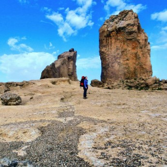Summit to Sea: Gran Canaria hitchhiking solo female travel roque nublo