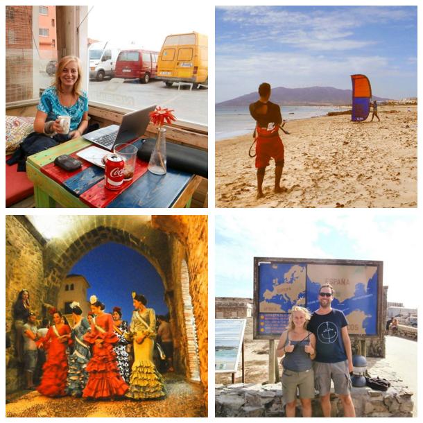 digital nomad Tarifa's Digital Nomad Scene Tarifa Spain Kitesurfing