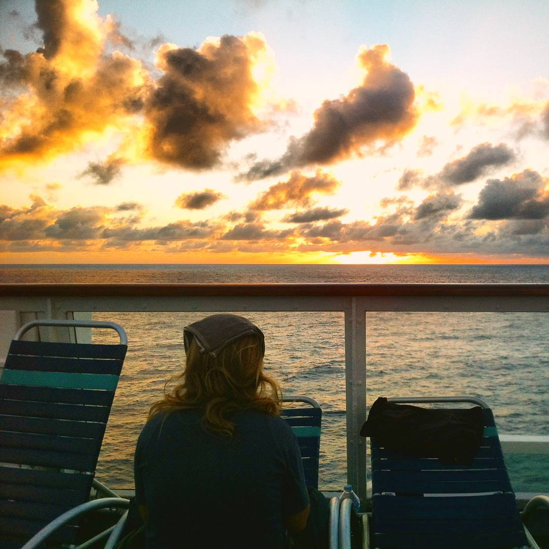 cruise-camping on the equator atlantic ocean crossing nomad cruise
