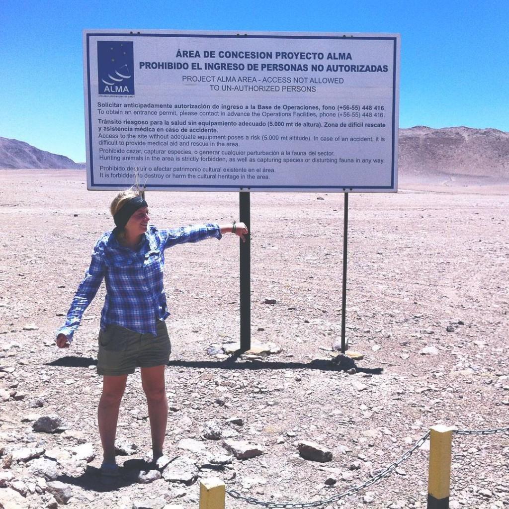 Chajnantor Observatory, Chile San Pedro de Atacama desert European Southern Observatory site