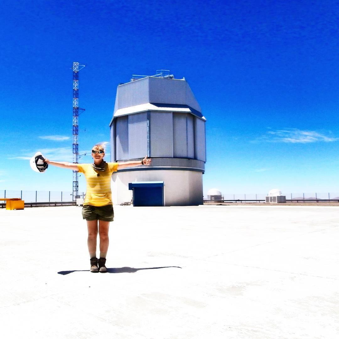 Paranal Observatory, Chile Tour group crashing Паранальская Обсерватория